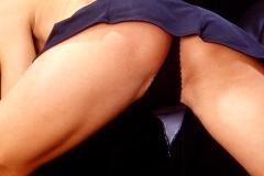 gespreizte Beine und du willst mehr sehen